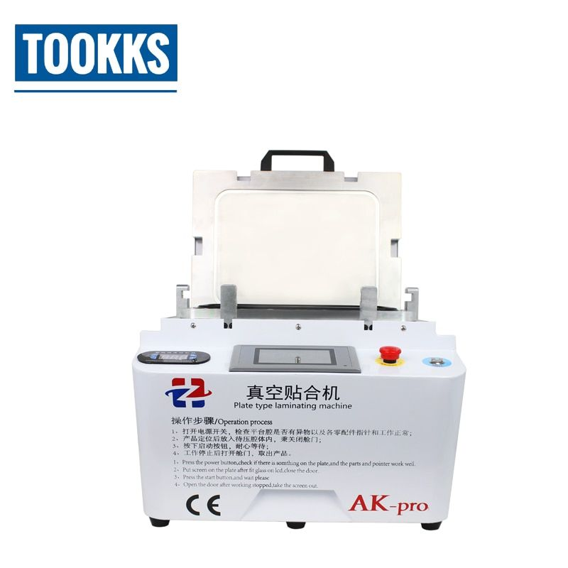 12 inch Automatic LCD OCA Vacuum Laminating Machine Bubble Remover Can do iPhone Glass With Frame Laminating