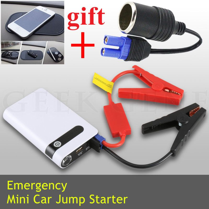 Mini Car Jump Starter 12000mAh Portable Starter Power Bank Starting Device 12V 400A Car Charger For Car Battery Booster Buster