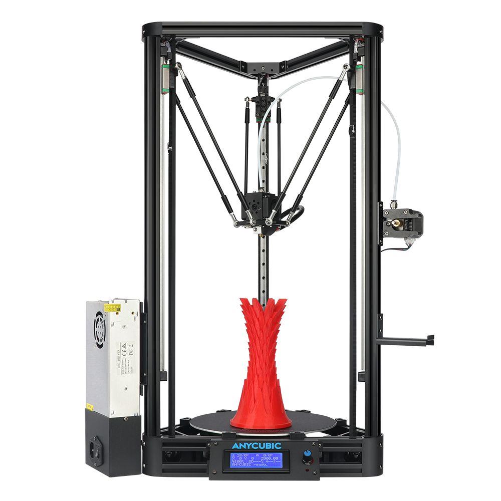 ANYCUBIC 3D Drucker Auto-Leveling Modul Delta drucker Linear Guide Automatische Plattform Plus Druck Größe 3D Drucker Diy Kit