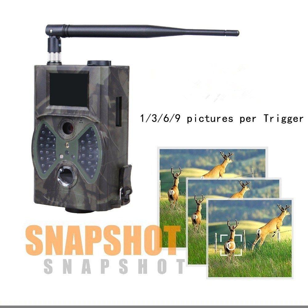 Hc350m Охота игры Камера MMS фото ловушка HD скаутинг инфракрасный открытый Охота Trail видео Камера