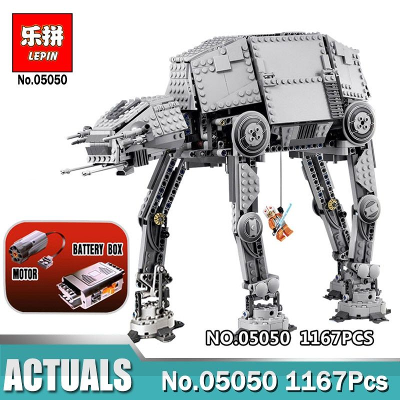 Lepin 05051 05051 Wars on Star Force Toys Awaken The AT AT Transportation Armored Robot Legoingly 75054 10178 Blocks Bricks Toy