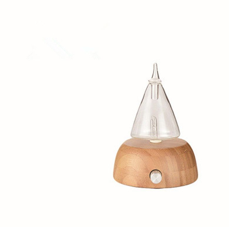 Newest wooden glass essential oil humidifier, ultrasonic room, aroma diffusion, ultrasonic aroma diffuser, home office hot