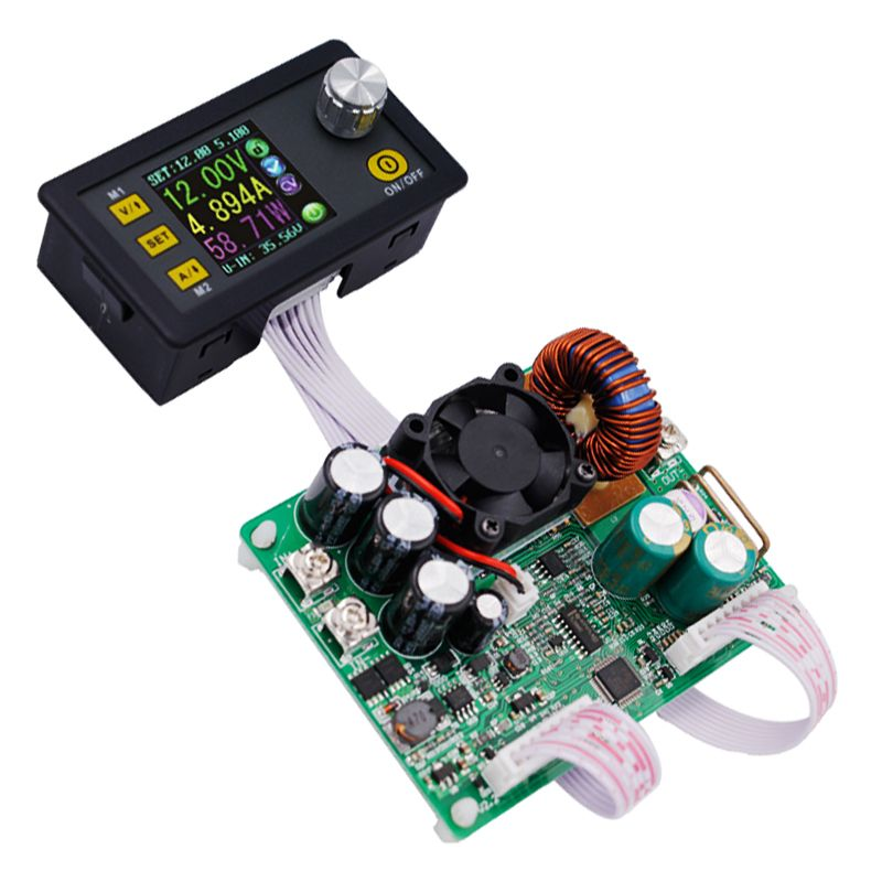DPS5015 LCD Voltmeter ammeter 0V-50V 0-15A Constant Voltage Current Step-down Programmable Power Supply Module 15%
