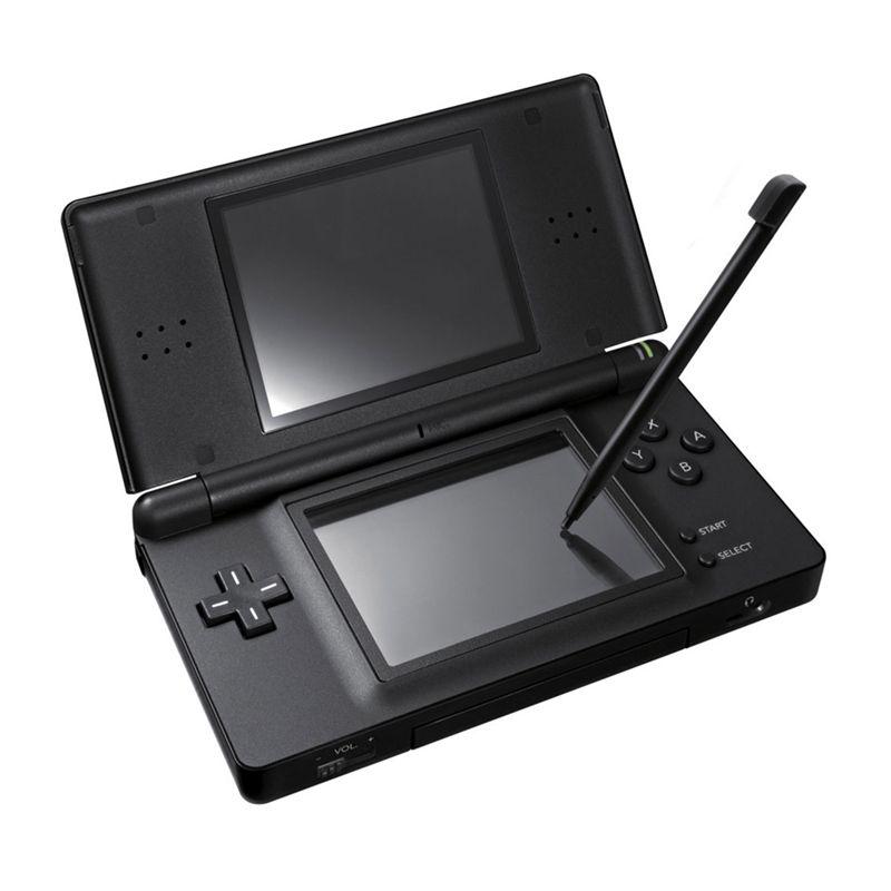 Jeu de poche 2.7 pouces LCD affiche 4 voies croix clavier système polaire et jeux Console Bundle chargeur et stylet pour NDSL