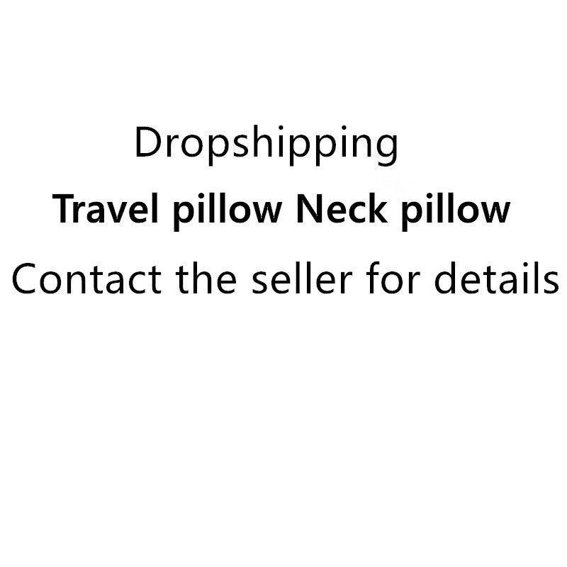Dropshipping Airplane Travel Neck Pillow Comfortable Travel Pillows For Sleep Home Textile  Pillow Travel