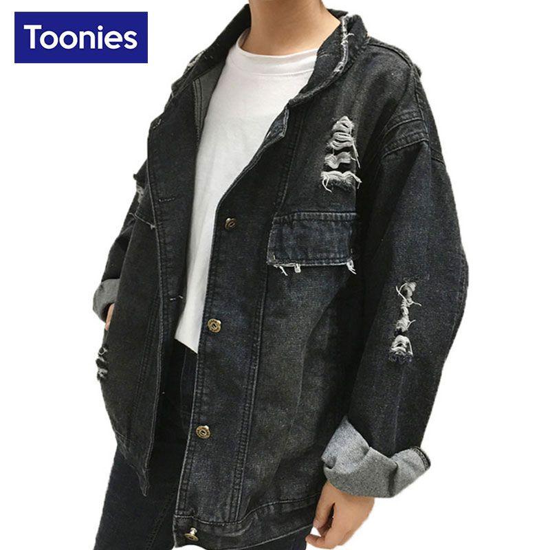 Jeans Jackets Women Coat 2018 Spring Autumn Long Sleeve Black Single Breasted Fashion Causal Denim Jacket for Women Basic Coats
