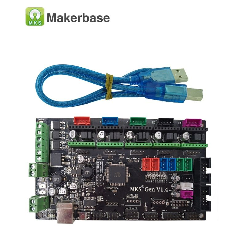 3D printer controller main board MKS Gen V1.4 compatible with Ramps1.4/Mega2560 R3 support a4988/DRV8825/TMC2100