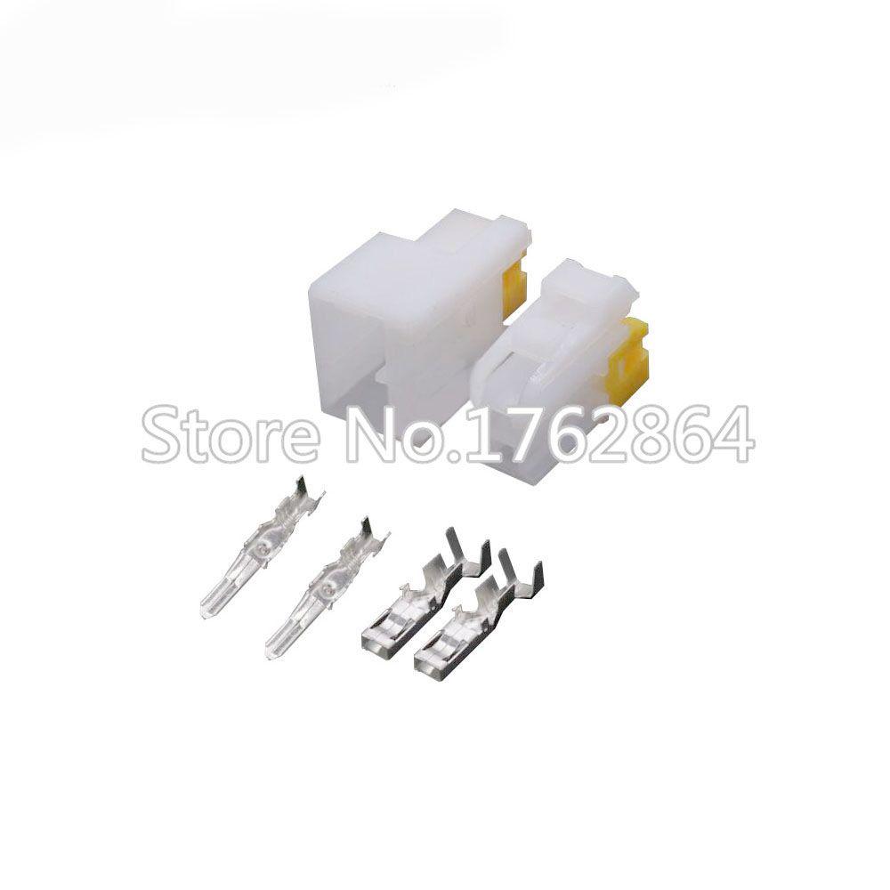 10 sets/lot 2 pin waterproof connector for car DJ7023Y-2.8-11/21 Automotive connectors