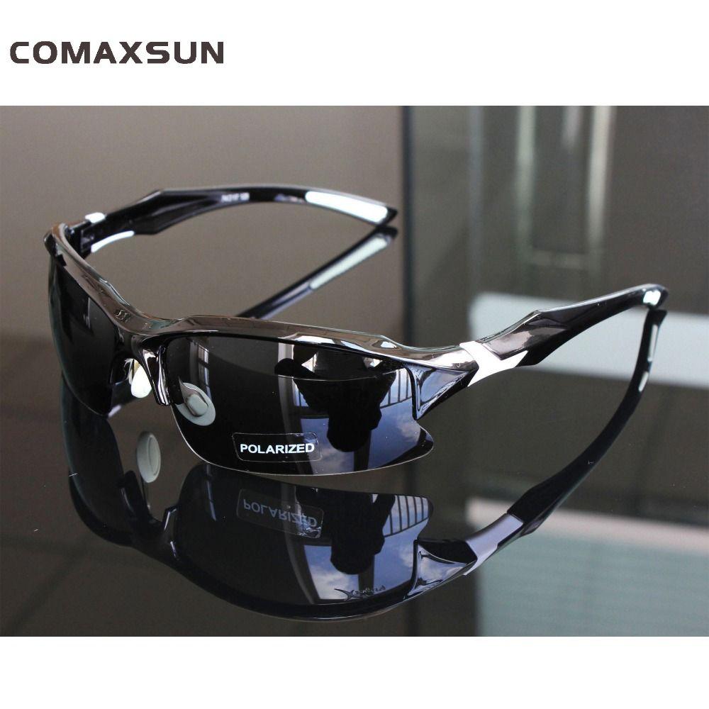 Comaxsun professionnel lunettes de cyclisme polarisées lunettes de vélo sport vtt vélo lunettes de soleil myopie cadre UV 400