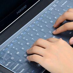 Водонепроницаемый ноутбук клавиатура защитная пленка 15 чехол для клавиатуры ноутбука 15,6 17 14 ноутбук клавиатура крышка пылеотталкивающая п...