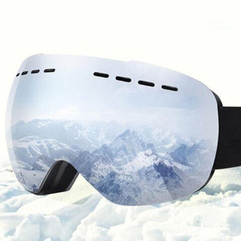 Ski Brille Anti-fog Gespiegelt Objektiv Snowboard Schnee Brille für Männer Frauen Jugend für Skating Schneemobil