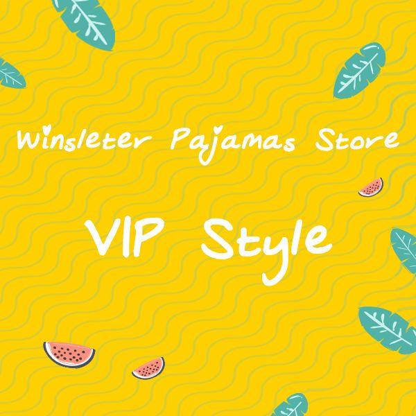 Women Pajamas VIP Style Elastic Waist Shorts 2 Pieces Set Nightwear Pijamas S94001 GD