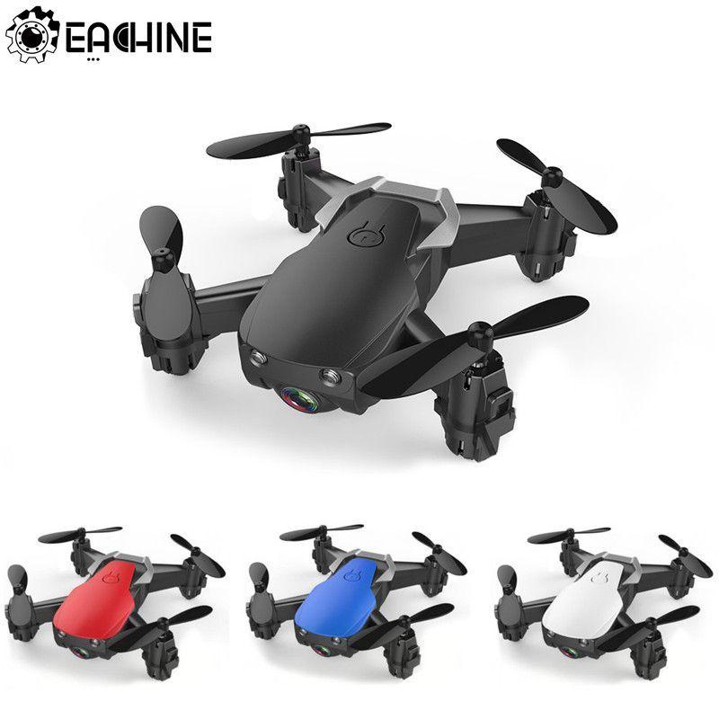 Eachine E61/E61hw Mini Drone avec/sans caméra HD Mode de maintien élevé RC quadrirotor RTF WiFi FPV hélicoptère pliable VS S9HW T10