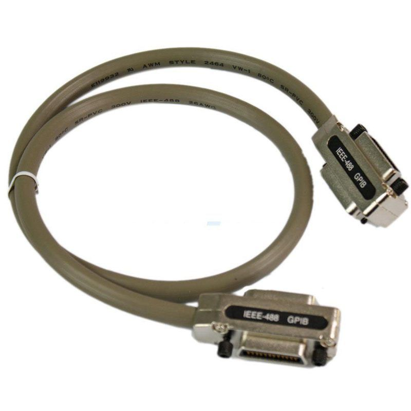 New 3Ft Adapter for IEEE-488 GPIB Cable Metal Connector