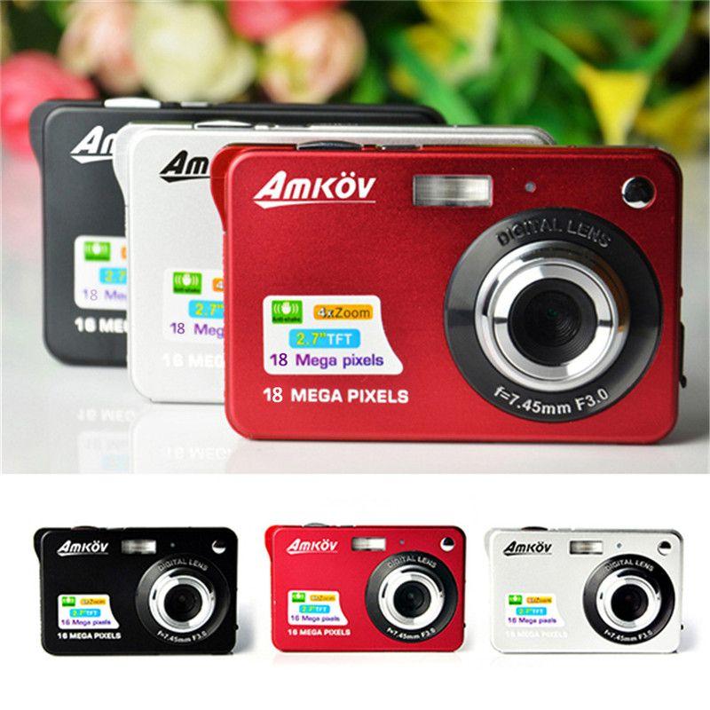 Amkov Digital Camera AMK-CDC3 8 Megapixel Mini Portable HD Shooting Camera Pocket Digital Camera Fotografica Digital