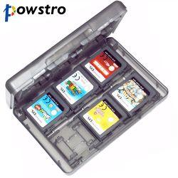 28 Slots Mémoire Titulaire de la Carte Carte de Jeu Cas Box Cartouche Anti poussière Anti Scratch Protéger pour Nintendo 3DS LL XL DS Jeux cartes