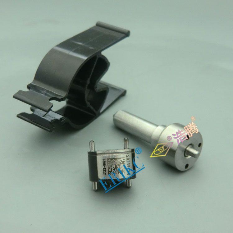 ERIKC 7135-649 common rail injector repair kits valve 9308-621C + nozzle L138BD for EJBR02601Z,A6650170121