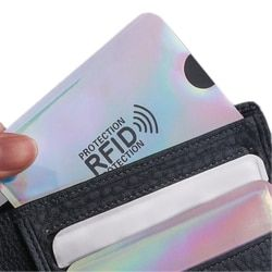 Women PVC Cartoon Card Holder Credit Student Cute  ID Cards Wallet Passport Business Bancaire Card Holder Protector