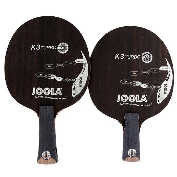 Original Joola Neue K3 TURBO K3 + SP, Ebenholz, 7 Ply Holz, schleife Offensive K3 Plus Tischtennis-blatt Schläger Ping Pong Bat