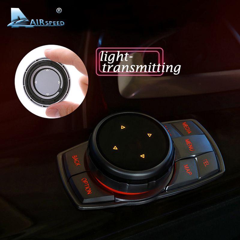 VITESSE idrive Voiture Boutons Multimédia Couverture M Autocollants Emblème pour BMW E46 E39 E60 E36 F30 F10 X5 E35 E34 E30 F20 E92 E60 M5
