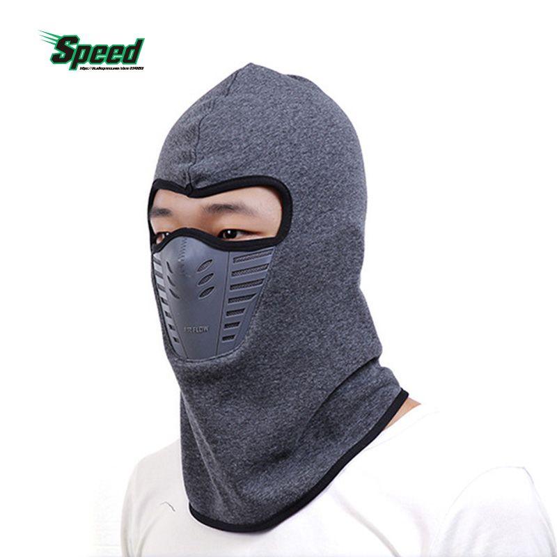 Männer Frauen Outdoor Sport Fahrrad Radfahren Winter Warm Neck Gesicht maske Thermische Flanell CS Hut Ski Hood Helm Caps 6 farbe