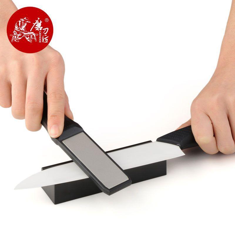 TAIDEA diamant aiguiseur pour accessoires de cuisine couteau outil extérieur Durable facile à utiliser système d'affûtage T1102D