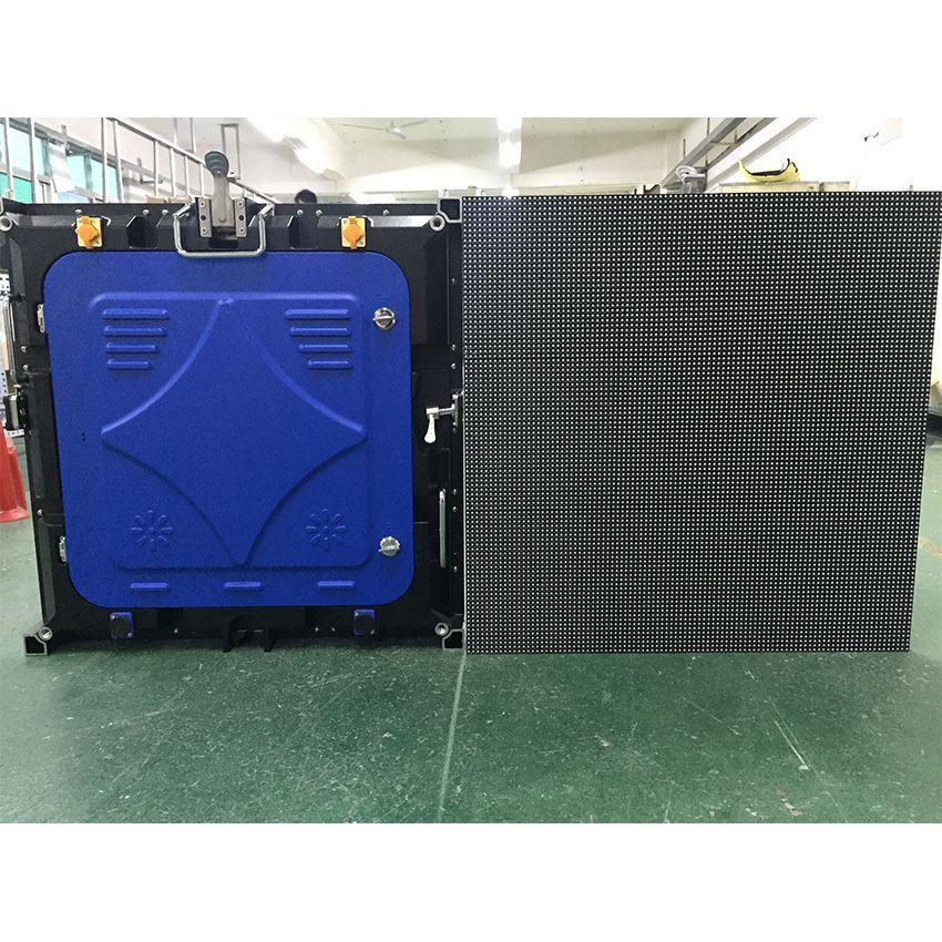 6 stücke Outdoor P3mm 576x576mm Led-anzeige Bildschirm Druckguss Aluminium Schrank, 192x192dots vermietung led video wand TV panels