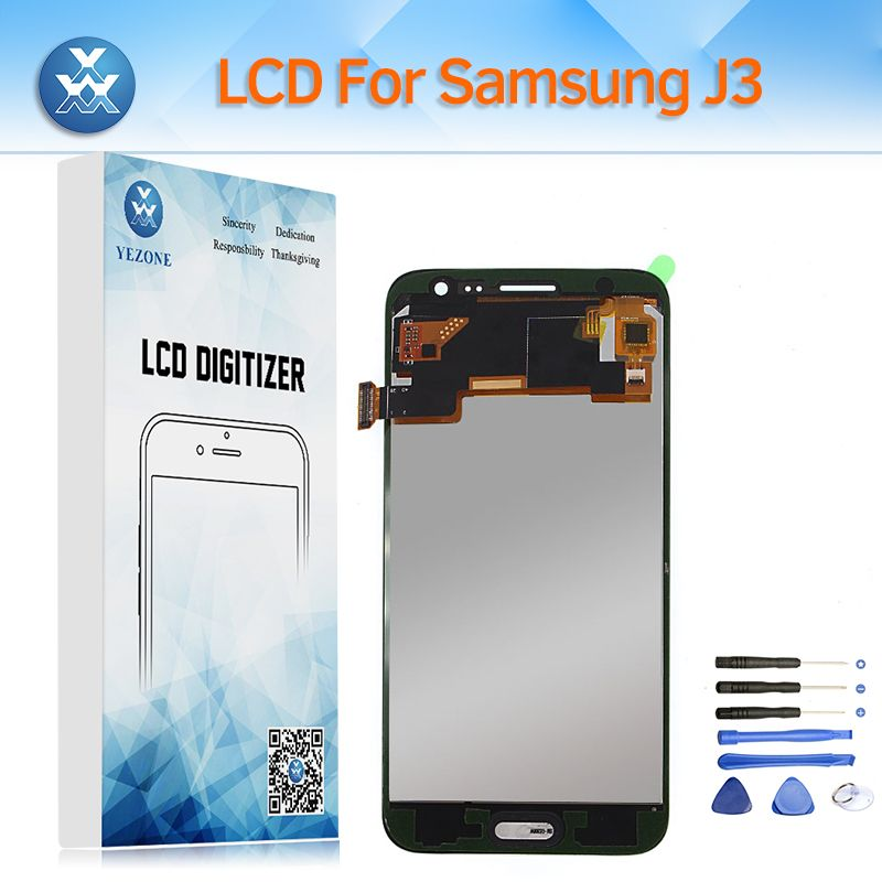 LCD Replacement for Samsung Galaxy J320 SM-J320FN LCD Display Touch Screen Digitizer Glass Assembly for J3 2016 J320M J320F+Tool