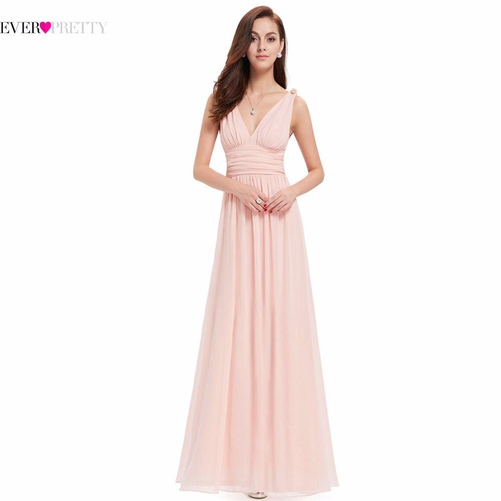 Vestidos de noche de la Nueva Llegada Imperio EP09016 Siempre Bonitos Vestidos Para Ocasiones Especiales Con Cuello En V Elegante 2017 Vestidos de Noche