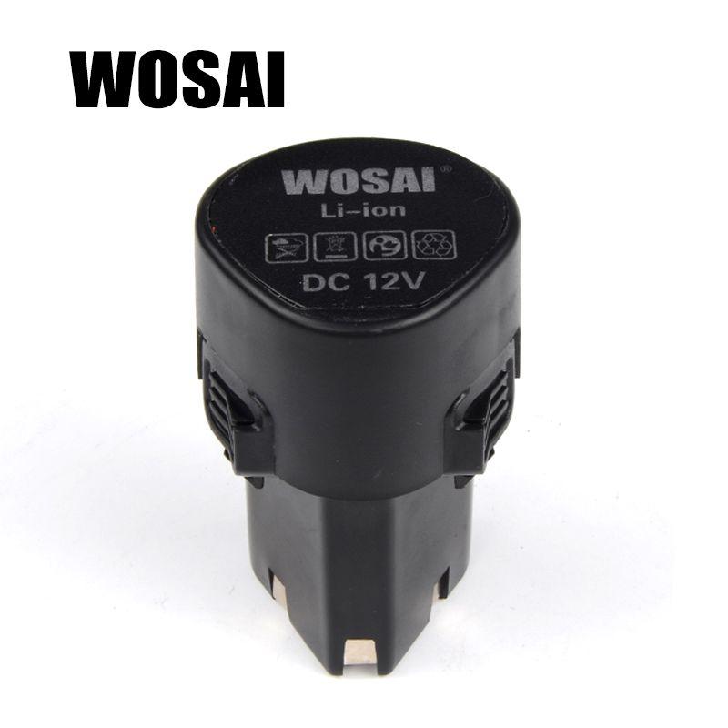 WOSAI 12 v Akku-bohrschrauber Lithium-Batterie Ersatz Batterie Anwendbar Bohrer Modell WS-3005 WS-D5