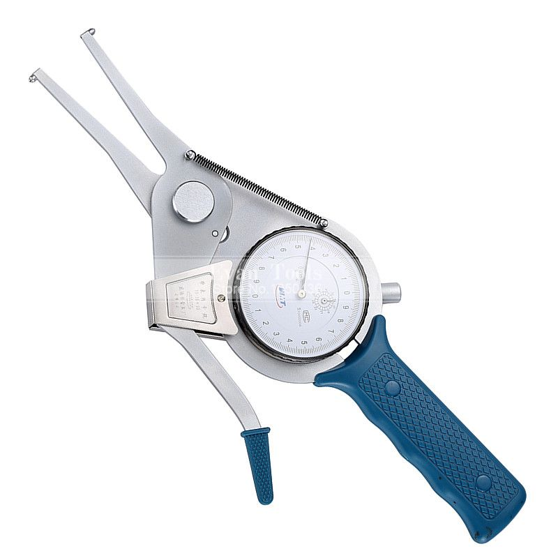 Inside Dial Caliper Gauges 15-35*50mm/0.01mm Metric Shockproof Carbide Points Micrometer Measuring Tools