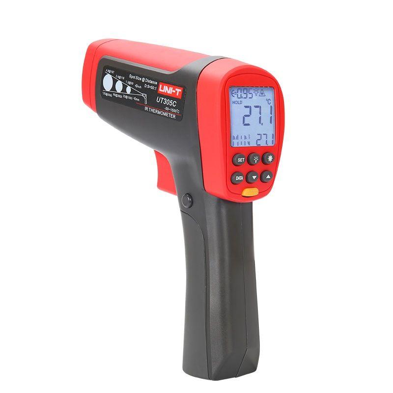 UNI-T UT305C Usb-schnittstelle temperatur messung UT305C serie infrarot thermometer Gun Meter Bereich-50 ~ 1550 Grad