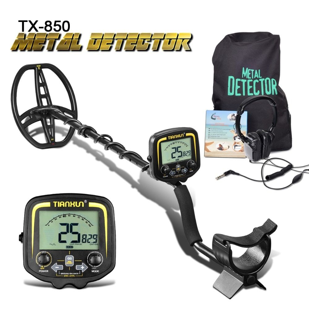 Professional Metal Detector Underground <font><b>Depth</b></font> 2.5m Scanner Search Finder Gold Detector Treasure Hunter Detecting Pinpointer