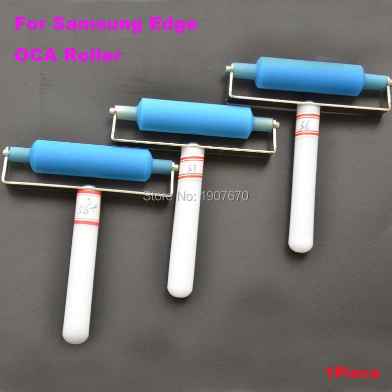 1PC for Samsung S7 edge S6+ plus edge OCA Film Silicone Roller Wheel Polarizing Tools Refurbish Paste Tool
