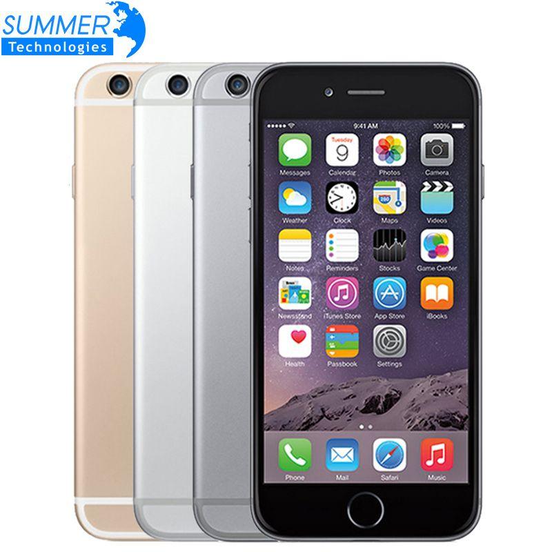 Original Entsperrt Apple iPhone 6 Plus Dual Core Handy IOS LTE 1 gb RAM 16/64/128 gb ROM 5,5