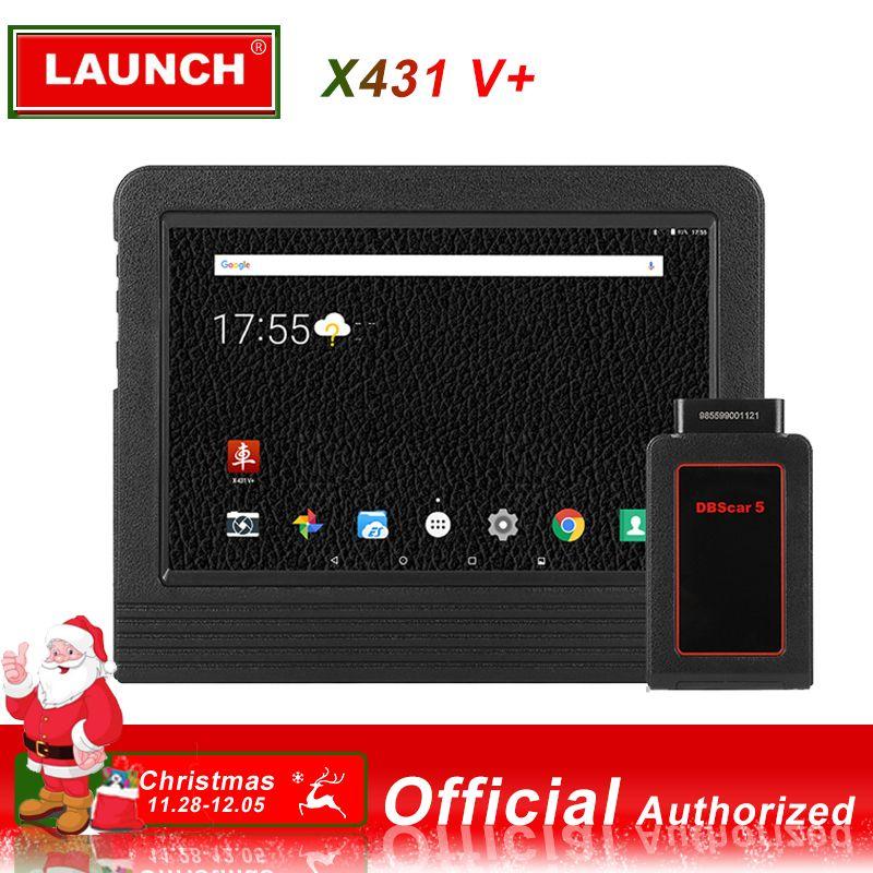LAUNCH X431 V+ Diagnostic Tool Car Diagnostic Automotive Scanner obd2 Bluetooth WIFI Full system obd scanner obd 2 LAUNCH X431