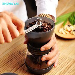 Dicuci Penggiling Kopi Biji Kopi Penggiling Tangan Crank Coffee Mill