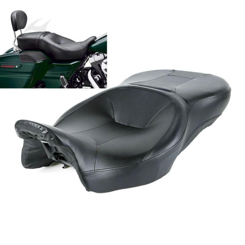 Siège moto et passager pour Harley Touring Electra Street Glide Road King Ultra classique FLHT FLHR FLHX FLTRX 14-18