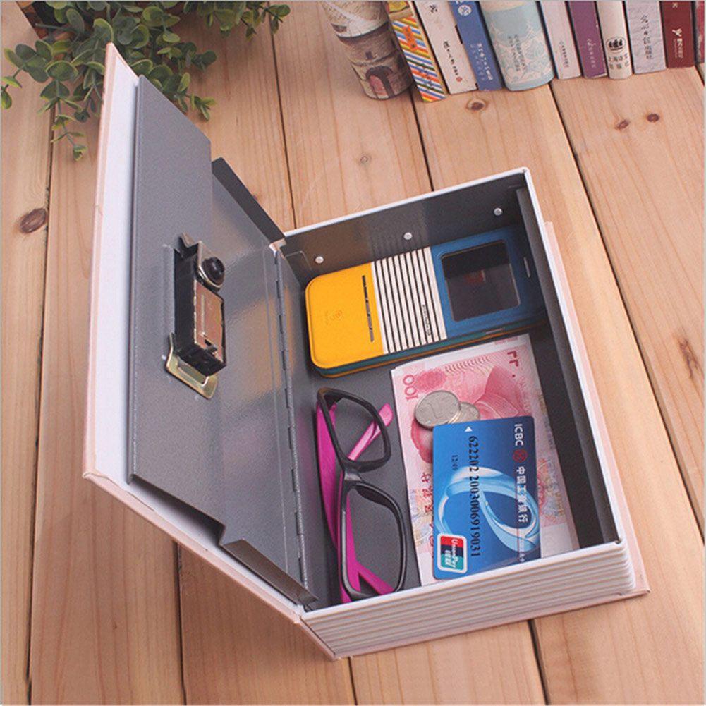 Home <font><b>Storage</b></font> Safe Box Dictionary Book Bank Money Cash Jewellery Hidden Secret Security Locker Box 2018ing
