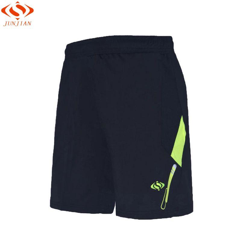 2017 professionelle Männer Badminton tischtennis shorts atmungsaktiv schnell trocknend uniformen männer laufhose mit taschen sportbekleidung