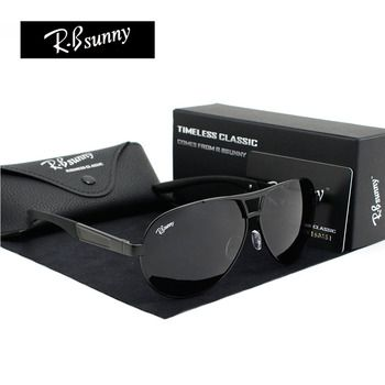 Fashion Brands polarized sunglasses Men Business Classic high quality sunglasses block Driving glare UV400 goggle R.Bsunny R1611