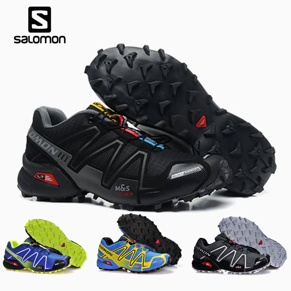 Salomon Speed Cross 3 CS cross-country running shoes Brand Sneakers Male Athletic Sport Shoes SPEEDCROSS 3 Shoes 36-45