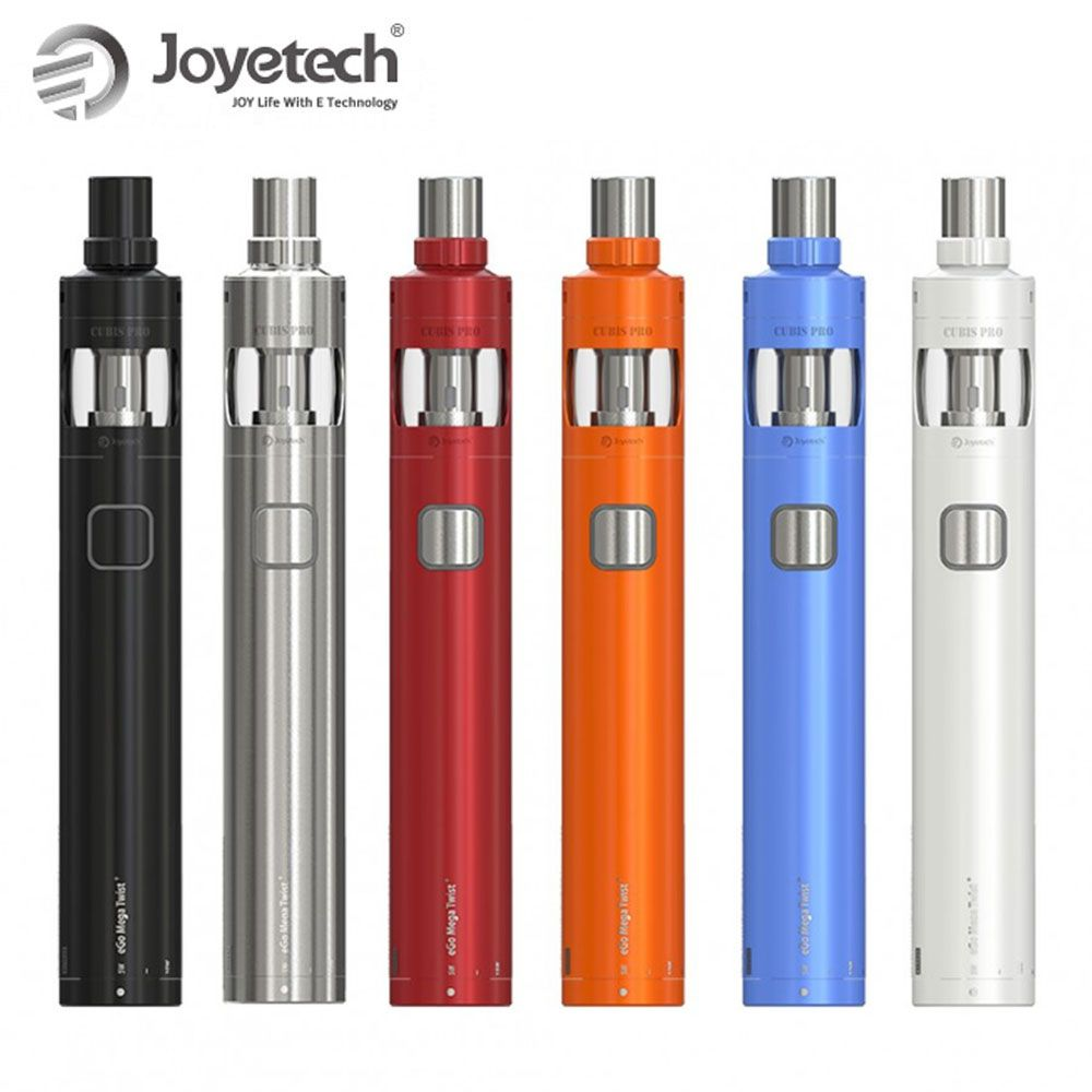 Hot! Original Joyetech eGo Mega Twist+ Kit VW/BYPASS Mode Builtin 2300mAh Battery 4ml Atomizer Capacity Electronic Cigarette