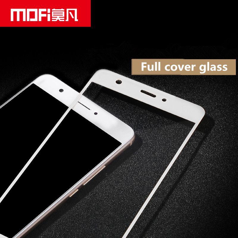 Huawei nova verre trempé MOFi d'origine Huawei nova écran protecteur pleine couverture blanc noir hauwei nova verre film 5.0 pouce