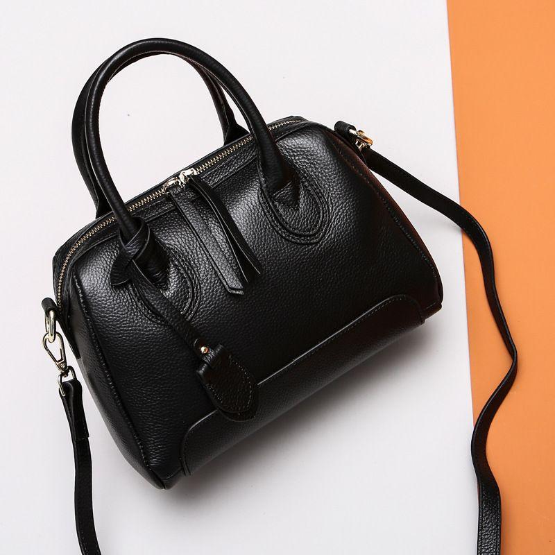 Shengdilu Women's Cow Leather Handbag Luxury Shoulder Bag Women Handbags Female Bag Lady Bag Designer