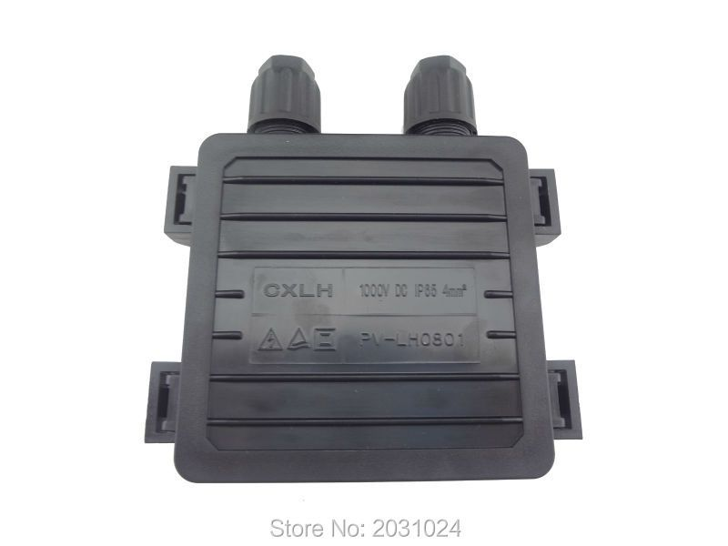 Free Shipping 1 PCS of junction box for solar panel DIY, solar junction box, pv junction box