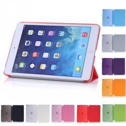 Для iPad Mini оригинальный Baseus Simplism серии Wake Up Fold Stand кожаный чехол Smart Cover протектор для iPad Mini 1 2 3