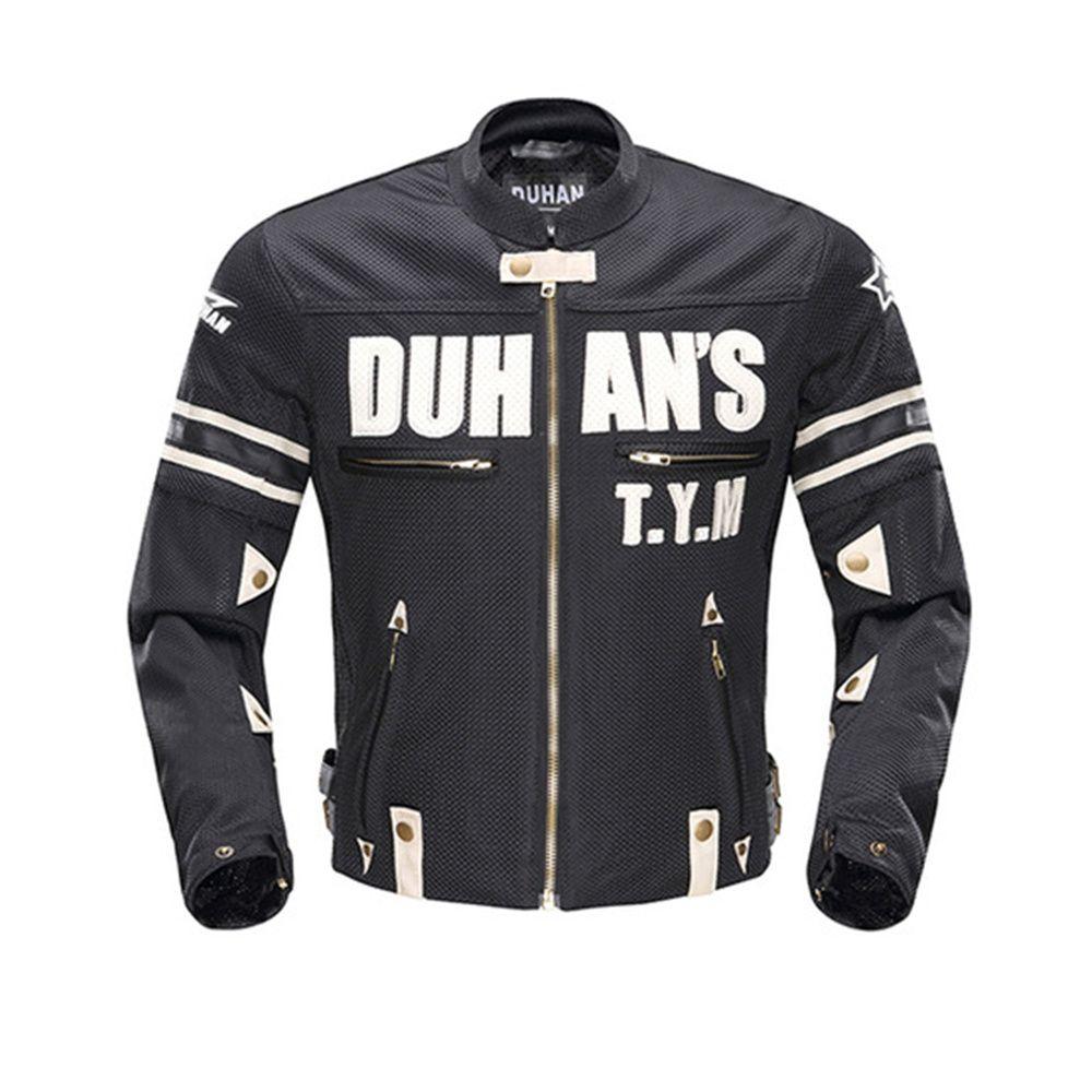 DUHAN Motorradjacke Sommer Körper Rüstung Reiten Offroad-rennhandschuhe Sport Jacke Kleidung Mit Fünf Protector Schutzvorrichtungen