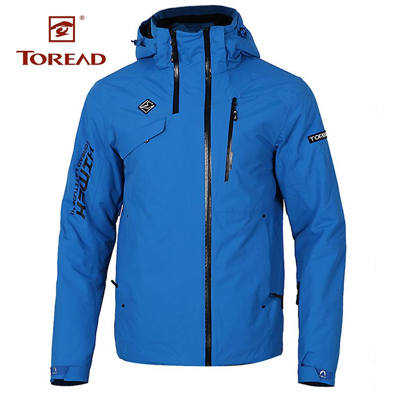 Toread 2018 Men's Autumn And Winter New Hiking Outdoor Mountaineering Sportswear Windproof Warm Ski Jacket