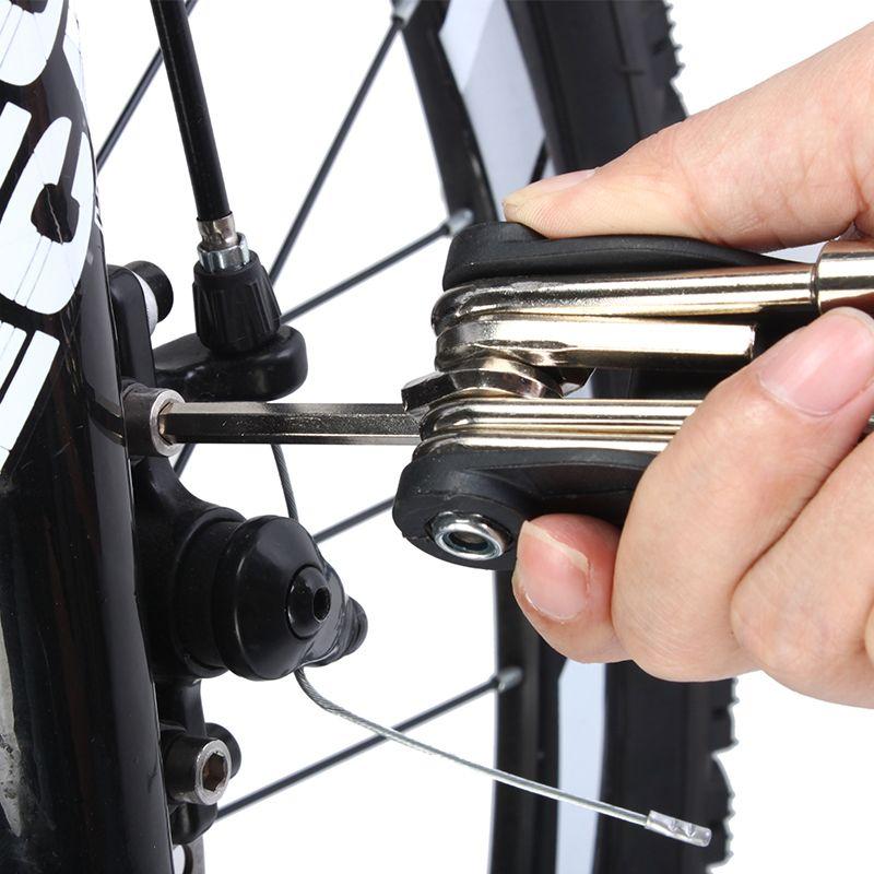 Haute qualité vélo outil ensemble route vtt VTT 16 en 1 multi outil kit vélo outil cyclisme multioutil réparation vélo outils ensemble